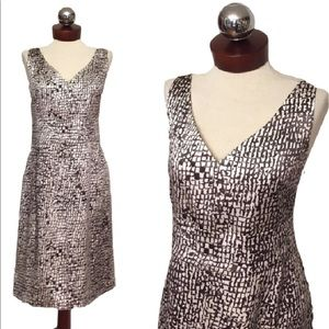 Ann Taylor Dresses & Skirts - ANN TAYLOR silk printed dress 14