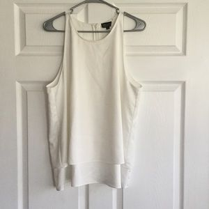 Topshop Tops - Topshop - White Polyester Tops