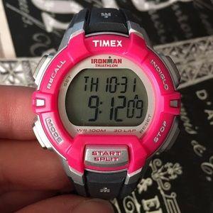 Timex Accessories - Timex Ironman triathlon pink/purple watch