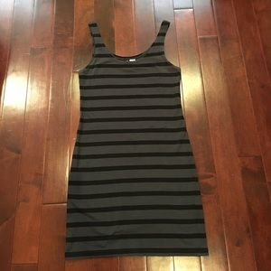 H&M Divided striped sleeveless dress