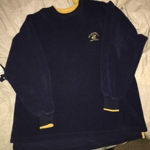 Vintage polo Beverly Hills club fleece sweatshirt