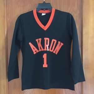 Vintage Tops - VTG Akron, Ohio Lady Champion #1 jersey