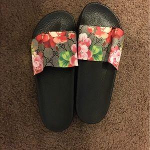 e1680503f Gucci Shoes - GG Blooms Supreme slide sandal