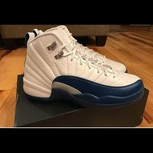 "Jordan Other - 🔥Air Jordan 12 French blue ""New In Box"" size 5y"