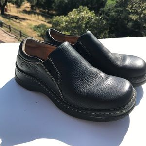 Born Shoes - Born Sutton Black Leather Loafers 7
