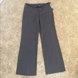 Apt. 9 Pants - Mid rise straight work trouser, shaping solution