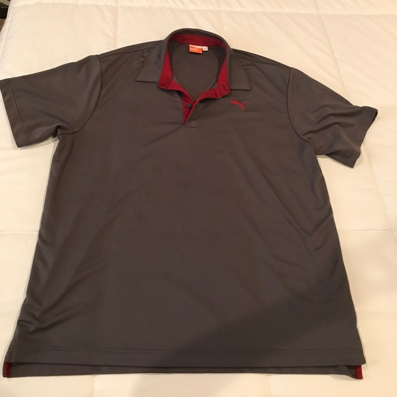 Puma men 39 s puma dri fit collared shirt from baylie 39 s for Dri fit collar shirts