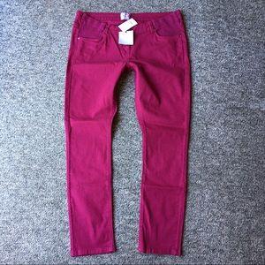 ASOS Maternity Denim - ASOS Maternity Jeans Skinny Magenta