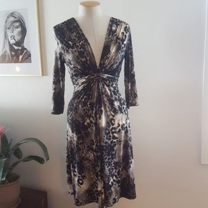 Ilse Jacobsen Dresses & Skirts - Ilse Jacobsen Animal Print Dress