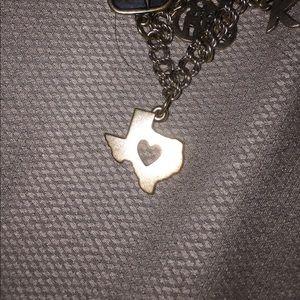 James Avery Jewelry - James Avery Heart of Texas charm