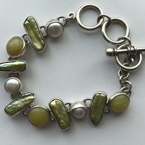 Charles Albert Jewelry - Charles Albert fine Sterling silver Art bracelet