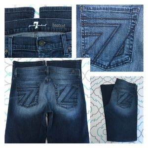 7 For All Mankind Other - 💙👖AWESOME 7FAM JEANS!!!👖💙34x34 Dark Wash & 7's