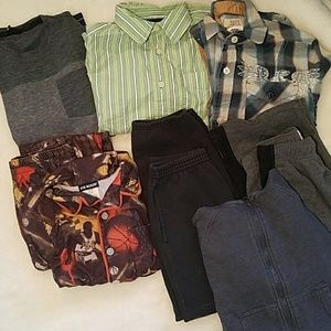 Ocean Current Other - Boys size medium 8 clothing lot pants Tops