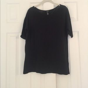 Forever 21 black basic top