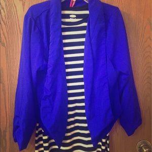 Charlotte Russe XL cobalt blazer