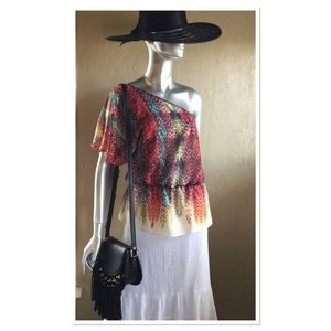 One Shoulder Summer Top