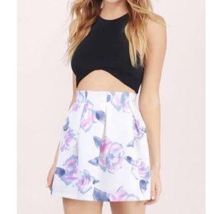 "NWT Tobi ""Dancing in the Rain"" Floral Mini Skirt"