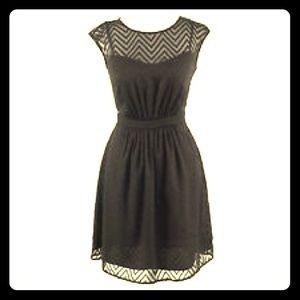J. Crew Dresses & Skirts - J. Crew Black Chevron Dress