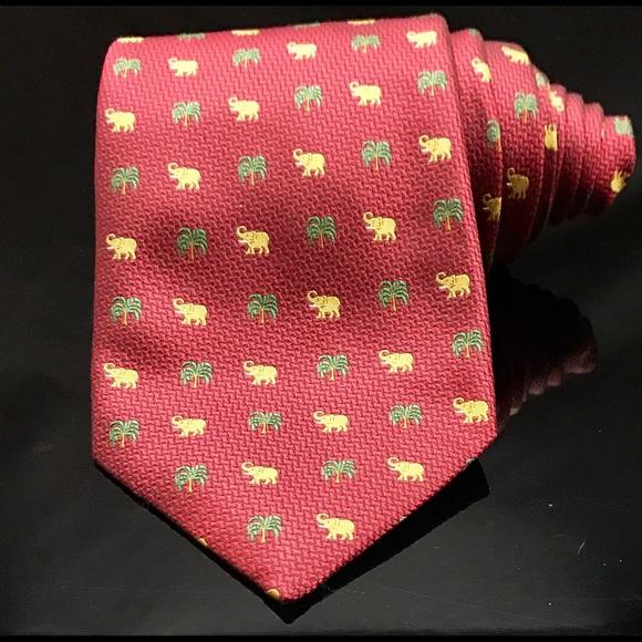 53 thompson other jim thompson tie elephant on
