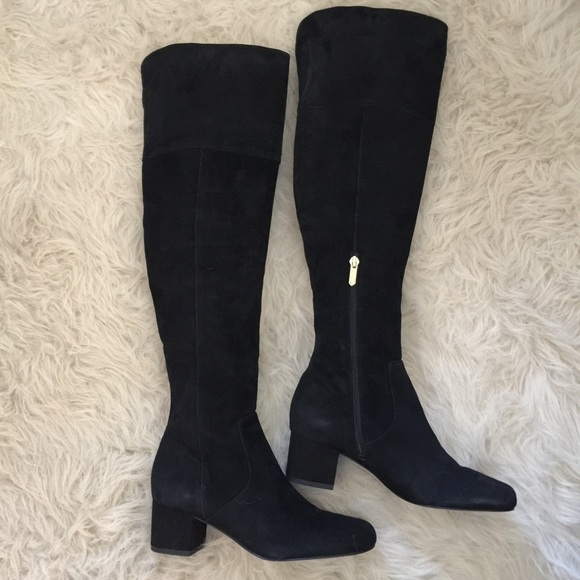 4efef2cac901b4 NWOTB Sam Edelman Elina Over-The-Knee Boot Blk 6.5.  M 59246bb84127d00f0710bb3c