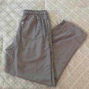 Uncommon Other - Uncommon Threads Check Chef Pants Large NWT