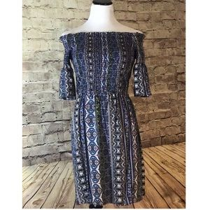 Hippie Rose Dresses & Skirts - Off Shoulder Hippie Dress NWT