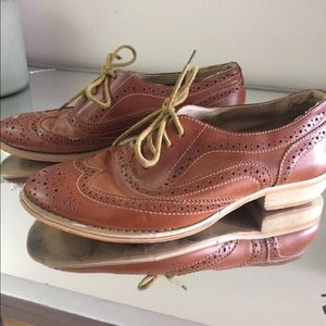 Wanted Shoes - Gently worn Wanted Oxford loafers! Size 7.5