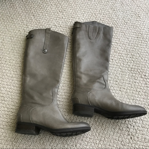 a70bc56ac365a3 Sam Edelman- Penny Riding Boots Grey Frost. M 59246eee522b45e6c310b59d