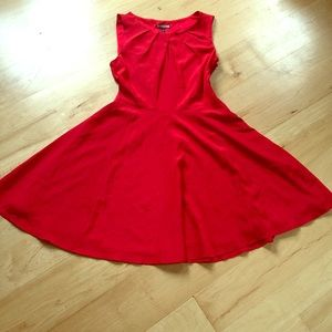 Express fit & flare party dress