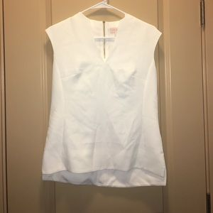 Ted Baker London Tops - Ted Baker London Paysy White Tank Top Sz 1 US 0-2