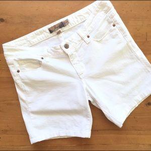 Paige Jeans Pants - Paige Rozbury White Jean Shorts