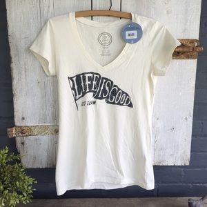 Life is Good Tops - NWT LIFE IS GOOD T-SHIRT