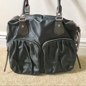 MZ Wallace Handbags - VVGUC MZ Wallace Jane Bag in Charcoal Luster