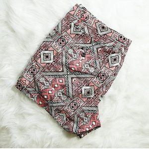 INC International Concepts Pants - Aztec Print Shorts
