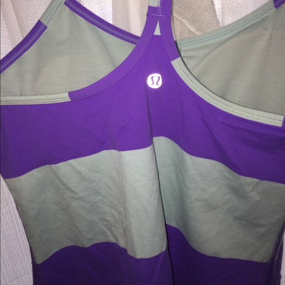 61 off lululemon athletica tops lululemon racer back for Shirts with built in sports bra