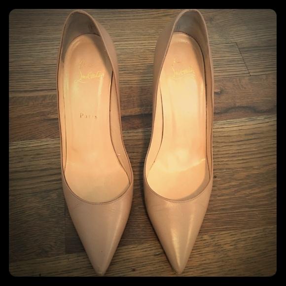 f58d73d49e6b Christian Louboutin Shoes - Christian Louboutin Apostrophy Pointed-Toe Pump