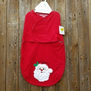 Starting Out Other - NWT Red Holiday Christmas Swaddle Blanket Layette