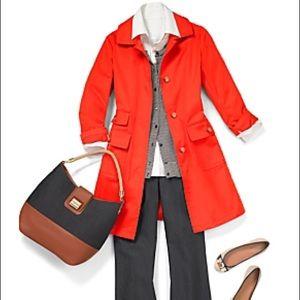 Talbots Modern Mac Petite Jacket Raincoat Size 16P