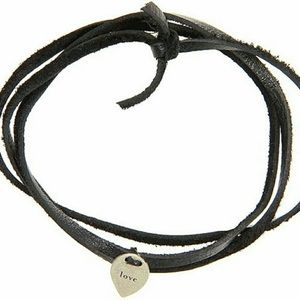 Dogeared Jewelry - 🆕Dogeared Jewels Love Petal Mantra Leather Wrap🖤