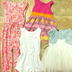 Other - Dress and romper Lot 18m