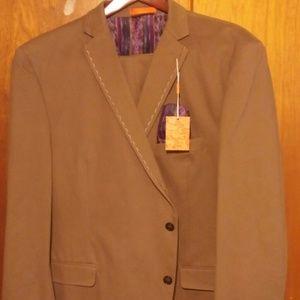 Tallia Orange Men's Suit