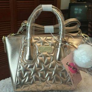 Betsy Johnson  Handbags - Betsy Johnson NWT Rose Gold Dome Crossbody Bag