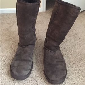 UGG Shoes - AUTHENTIC Tall Chocolate UGG's!