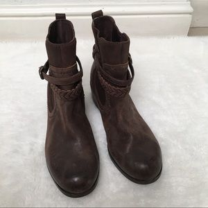 ded70d4200b UGG Women's Krewe Ankle Boots - Chocolate 7 1/2