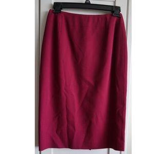 Christian Dior Dresses & Skirts - Christian Dior Burgundy Skirt