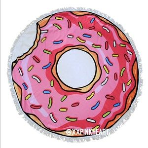 Accessories - 🍩 DONUT ROUND BEACH TOWEL