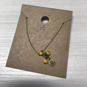 Monogram M necklace ~ NWT