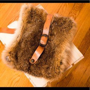 Patricia Nash Handbags - Patricia Nash Crossbody Fur Bag