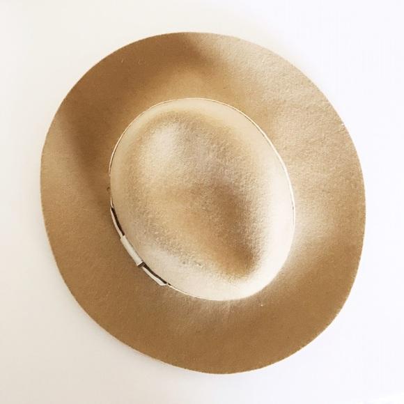 Phase 3 Accessories - NWOT Beige Wool Fedora Hat