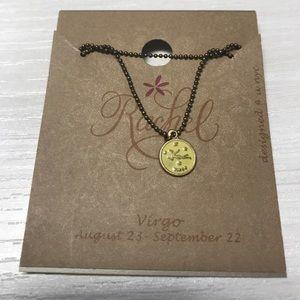 Virgo horoscope necklace ~ NWT